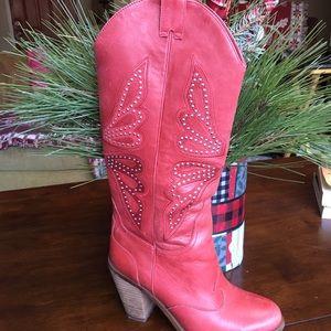 EUC Jessica Simpson Western Style Boots